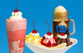 Ice cream cone lineup